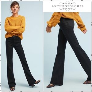 Anthropologie Pilcro High Rise Bootcut Black Jeans